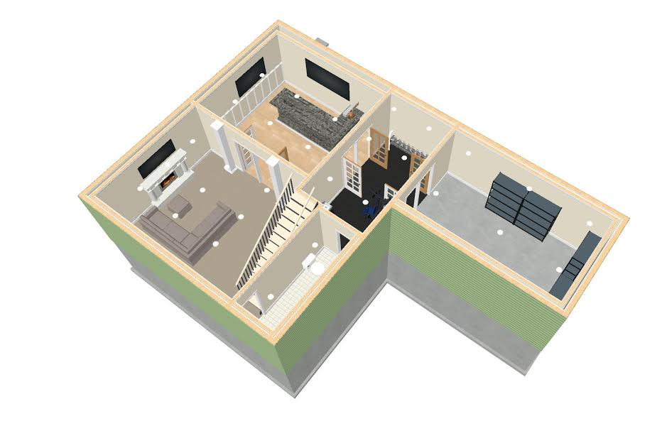 NJ Home Improvement Contractor 3d modeling